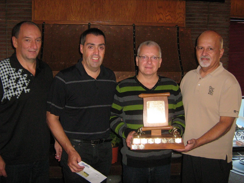 2014 Senior A Winner team Dufresne
